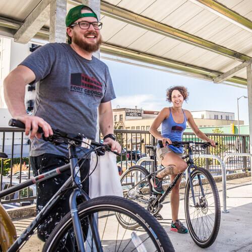 Fort George employee bike program