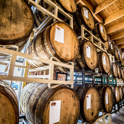Fort George barrel aged beer Lovell Showroom
