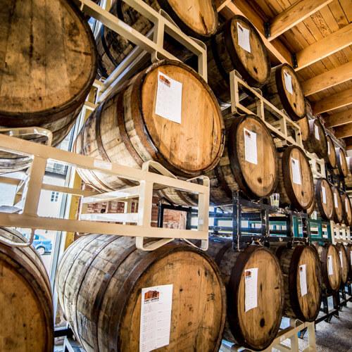 Fort George barrel aged beer Lovell Showroom