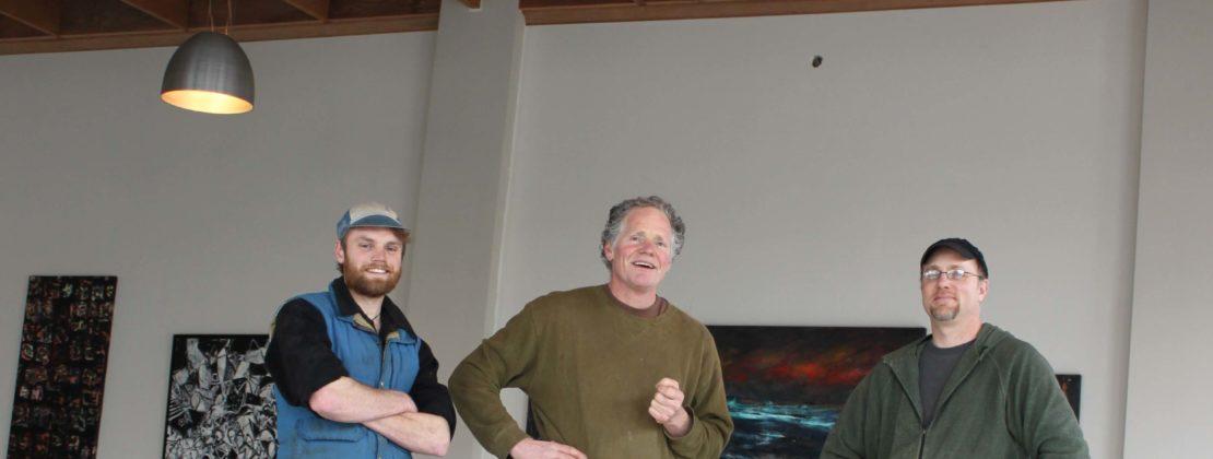 The Restoration Crew: (Left to Right) Nate Killops, Tim Kennedy, Drew Olson