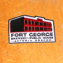 Fort George Iron on Patch