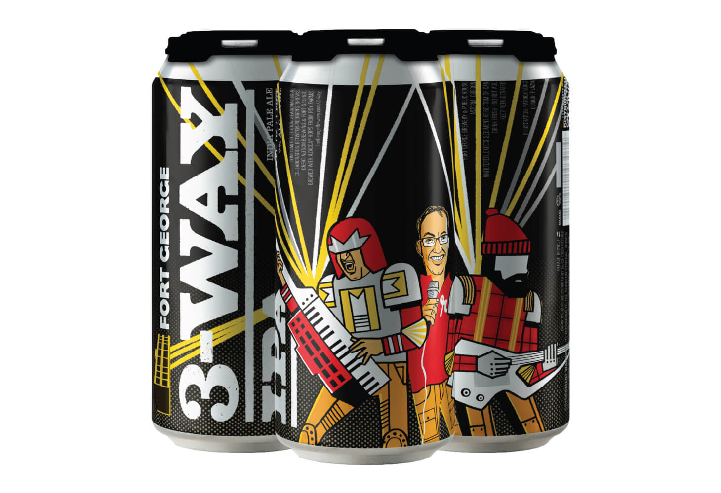 Image of Fort George 3-Way IPA