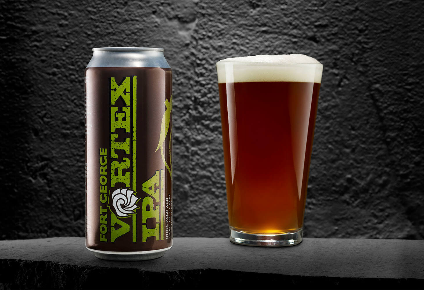 Image of Fort George Vortex IPA in a glass