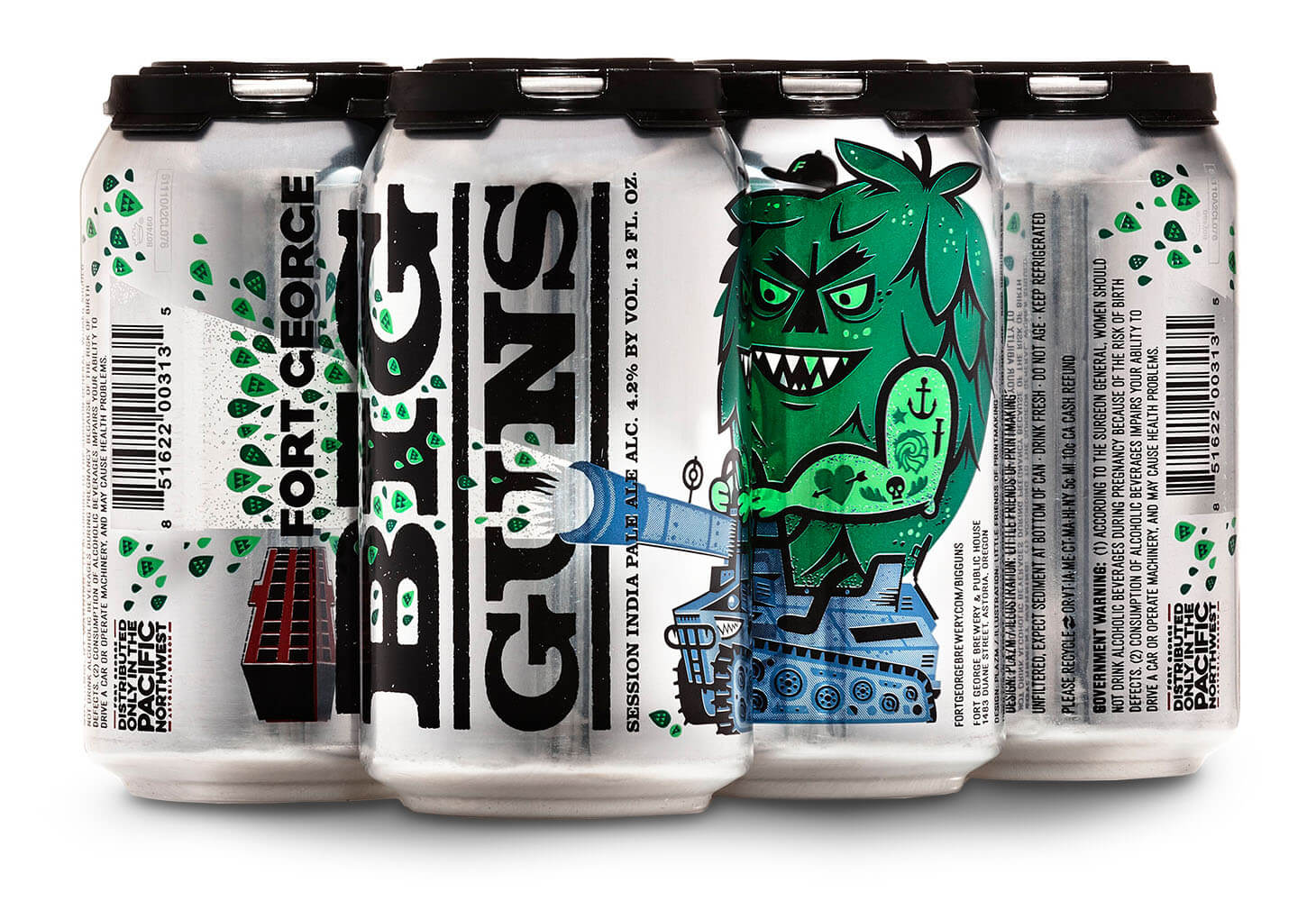 Image of Fort George Big Guns Session IPA