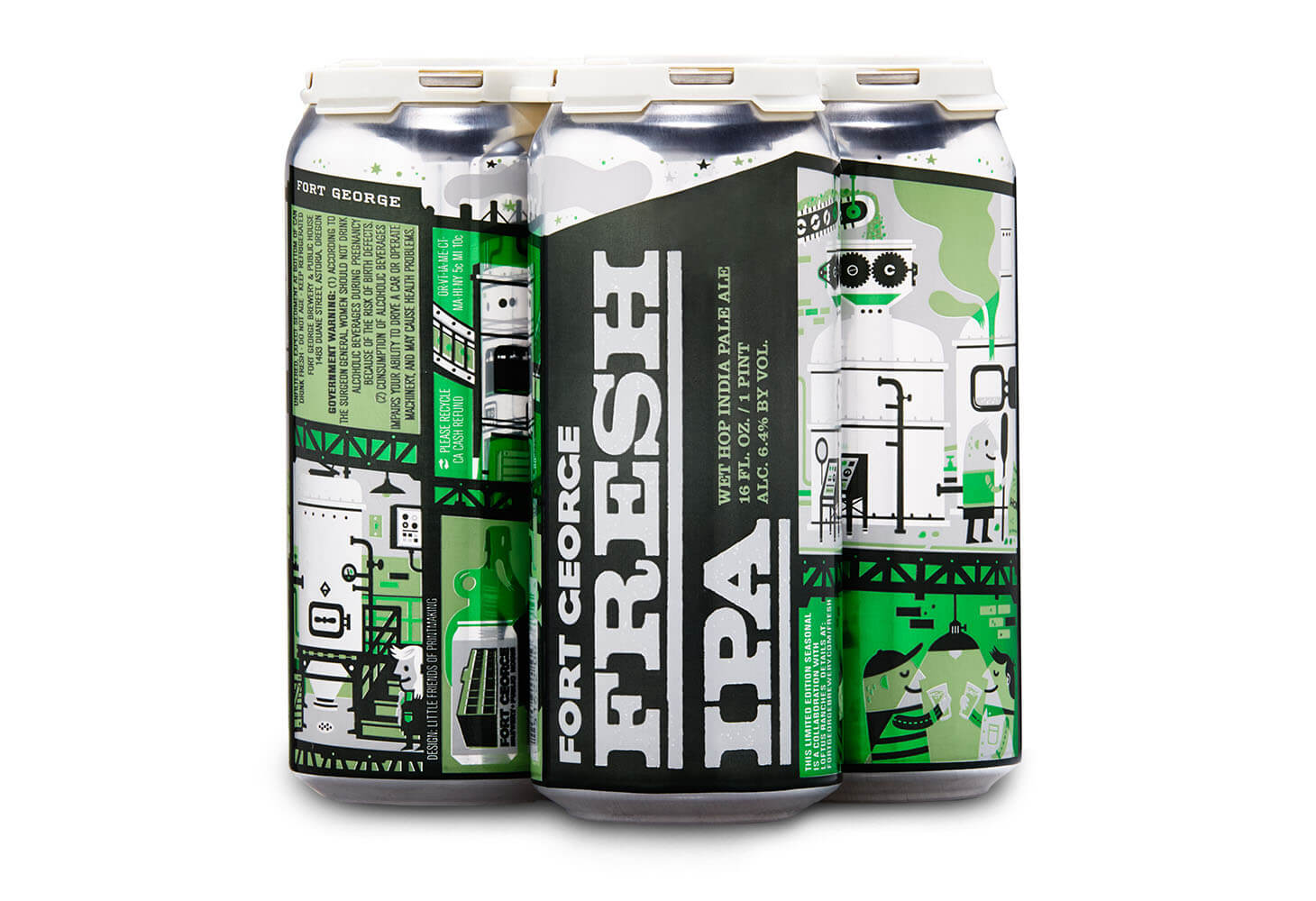 Image of Fort George Fresh IPA