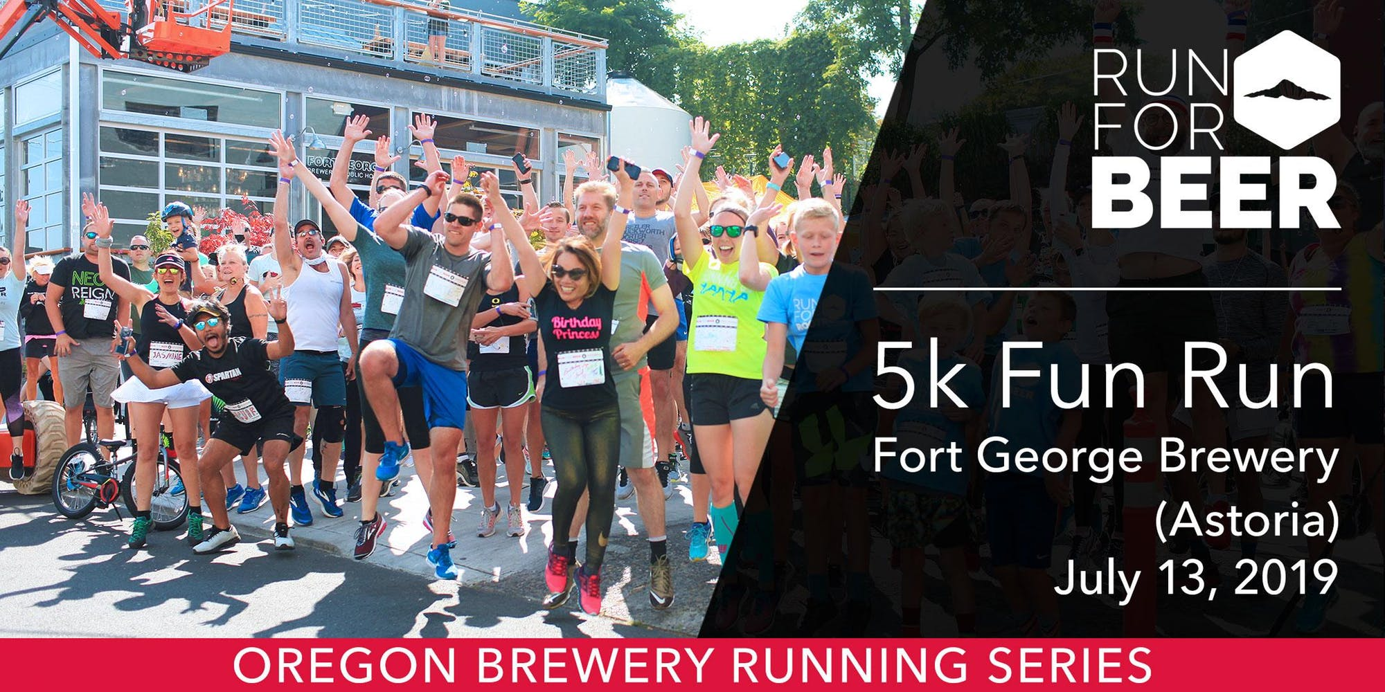 Image result for oregon brewery running series fort george brewery